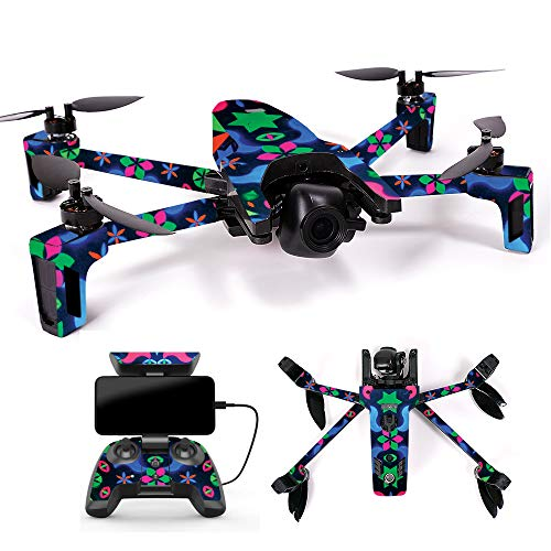 MightySkins Skin for Parrot Anafi Drone – Geometric Rave | Protective, Durable, and Unique Vinyl Decal wrap Cover | Easy to Apply, Remove, and Change Styles | Made in The USA For Sale