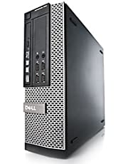 Dell OptiPlex 7010 SFF 3rd Gen Quad Core i5-3470 8GB 128GB SSD DVDRW Windows 10 Professional 64-Bit Desktop PC Computer (Renewed)