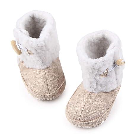 ac2ff2ff29ce0a Tukistore Scarpine neonato da Baby Infant £¬ Inverno Caldo Baby Peluche  Stivali Di Neve Sole