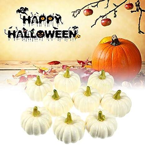 matrimonio Set di 22 zucche artificiali festivit/à stagionali centrotavola Ringraziamento Multi Halloween KKS per autunno assortite