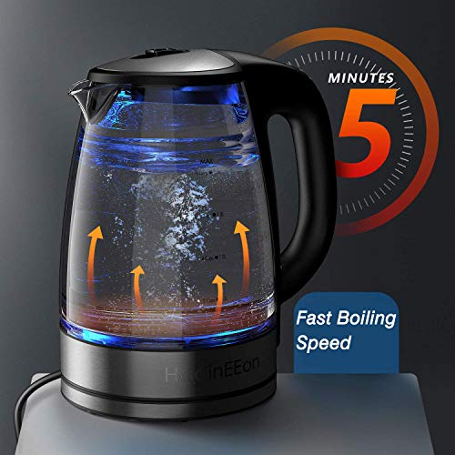 1200W Electric Tea Kettle 8 Big Cups 2.0L Variable Temperature Electric Kettle