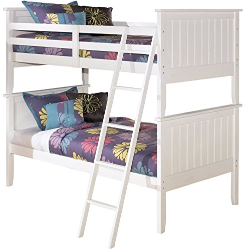 Collection Bunk (Signature Design by Ashley B102-59P Lulu Collection Bunk Bed Panels, Twin, White)