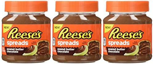 Reese's, Spreads, Peanut Butter Chocolate, 13oz Jar (Pack of 3)