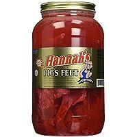 Hannah's Pickled Pigs Feet 4.25lb Jar