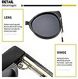 SUERTREE Vintage Sunglasses Unisex Shades Small