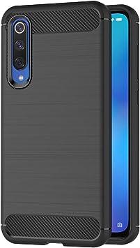 AICEK Funda Xiaomi Mi 9 SE, Negro