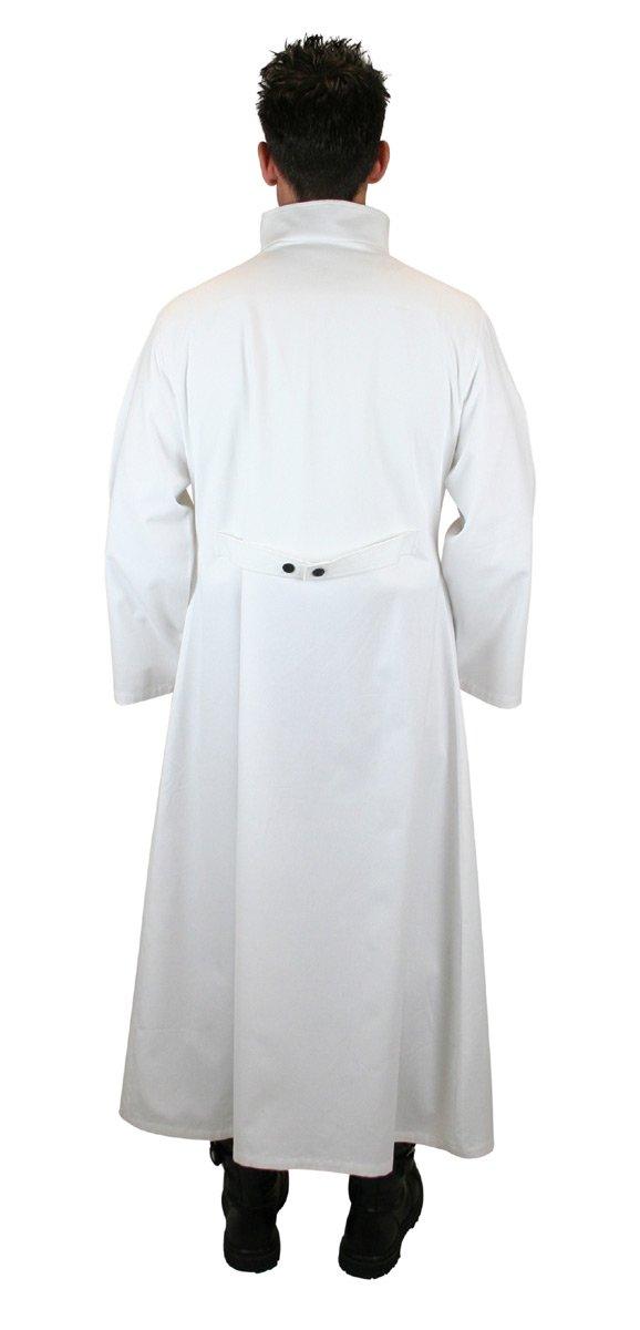 Historical Emporium Men's Cotton Twill Mad Scientist Howie Lab Coat XL/2X White by Historical Emporium (Image #3)