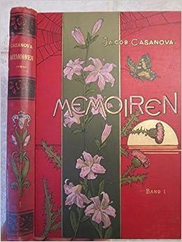 Jacob Casanovas Memoiren Jacob Casanova Amazoncom Books