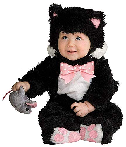 Rubie's Baby Inky Black Kitty Costume Jumpsuit, 6-12