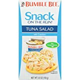 #2: BUMBLE BEE Snack on the Run! Tuna Salad with Crackers Kit, 3.5 Ounce