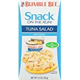 BUMBLE BEE Snack on the Run! Tuna Salad with Crackers Kit, 3.5 Ounce