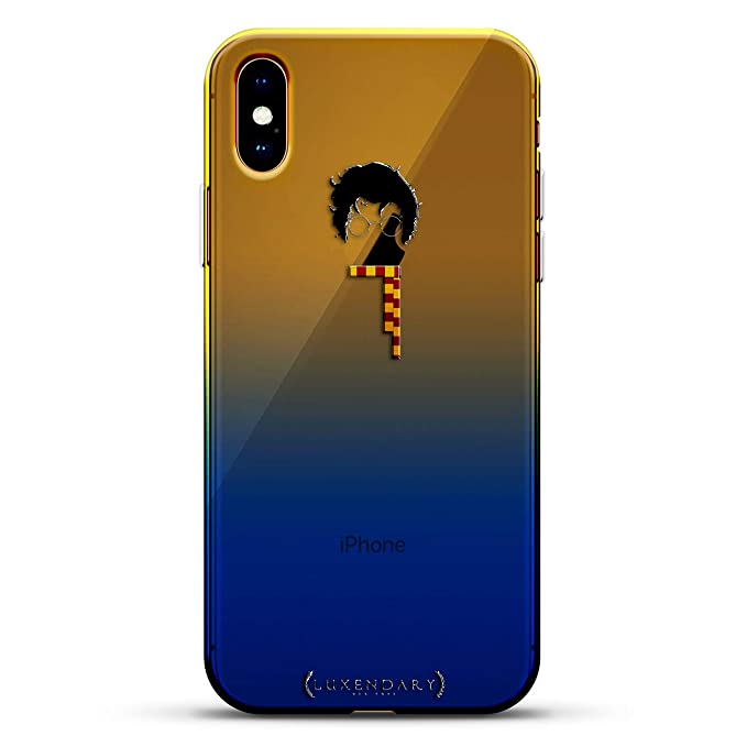 Fandom Harry Potter Icon Apple Luxendary Gradient Series Clear Ultra Thin Silicone Case For Iphone Xs Max 6 5 In Sunrise Blue
