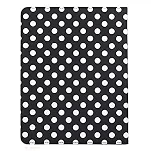 Buy 360 Degree Rotating Round Dots Pattern Auto Sleep & Wake-Up PU Leather Case with Stand for iPad 2/3/4 (Optional Colors) , White