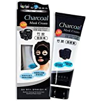 Adbeni Charcoal Mask Cream for Pollution Free Skin, Black Head Remove, Deep Cleansing, Oil Control, 130g