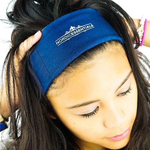 16-in-1 Headband (1-Pack) - 16+ Original Styles Headwear - Sports Band, Bandana, Neck Gaiter, Mask, Helmet Liner