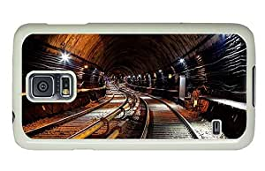 Hipster Samsung Galaxy S5 Case mate covers metro subway PC White for Samsung S5