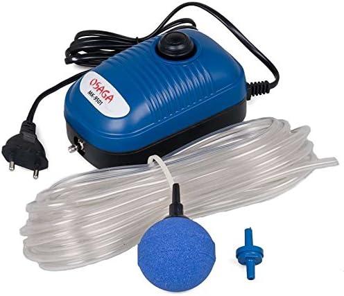 Osaga mk-9501 9502 9510 Set stagno aeratore Pompa Membrana Pompa Ossigeno regolabili