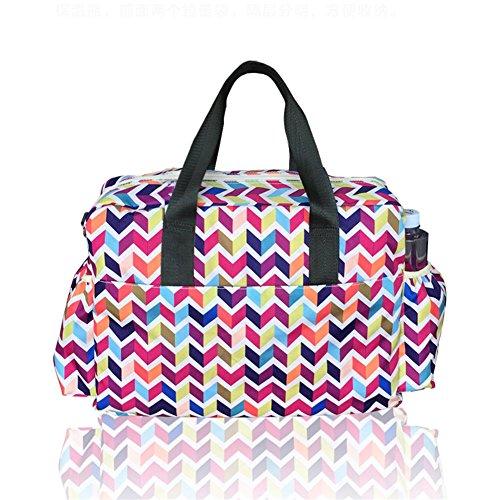 Kangming Multifunktions Baby Windel Windel Wickeltasche groß, wasserdicht Kapazität Mumie Handtasche für Frauen