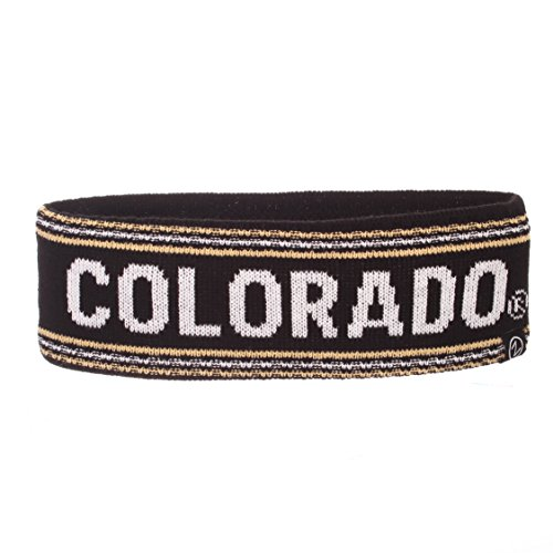 (Zephyr NCAA Colorado Buffaloes Women's End Zone Headband, One Size, Team Color)