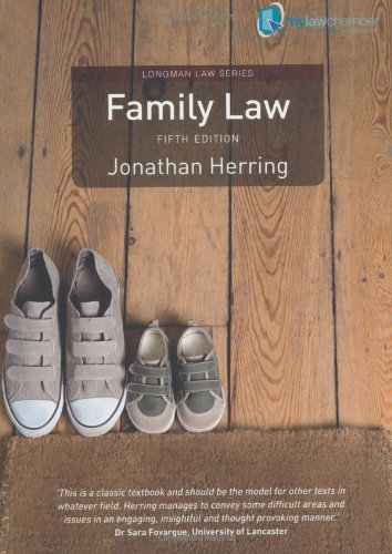 Family Law. Jonathan Herring (Longman Law Series)