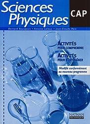 Sciences physiques, CAP Industriels (Manuel)