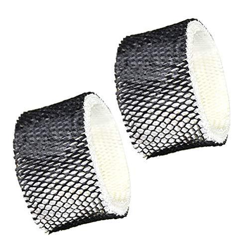 HQRP 2-Pack Wick Filter for Sunbeam SCM1100 SCM1701 SCM1702 SCM1761 SCM1762 SCM2409 SCM41000 Humidifiers, SF212 / SF212PDQ-UM / HWF62 / SWF62 Filter A Replacement Coaster