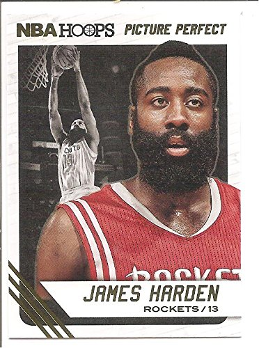 James Harden Houston Rockets 2014-15 Panini Hoops Picture Perfect Basketball Card #6 by Ozark Sports Collectibles