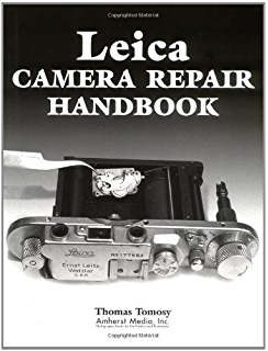 Leica repair manual: a comprehensive bound copy covering m2, m4.