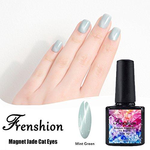 Frenshion Magnetic Cat Eye Jade Gel Polish 3D Gel Nail Polis