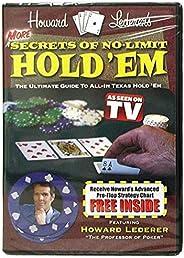 Trademark Poker More Secrets of No Limit Hold'em DVD with Howard Lederer, Multi-C