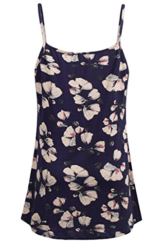 BEPEI Women Tank Tops, Fashion Camisoles Tanks Tops Casual Loose Fitting Flowy Sleeveless Tunics Halter Loose Fit Shirts Navy L Summer Blouses by BEPEI (Image #1)