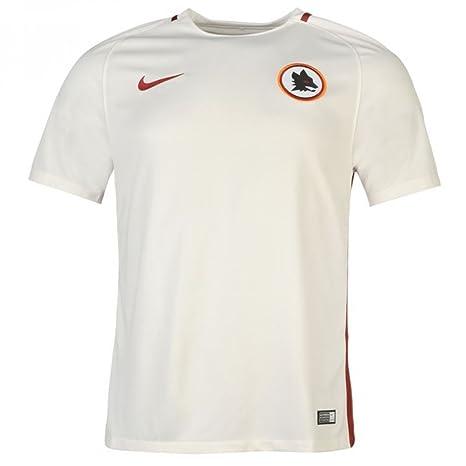 ae469fe34f15c Amazon.com: Nike 2016-2017 AS Roma Away Football Soccer T-Shirt ...