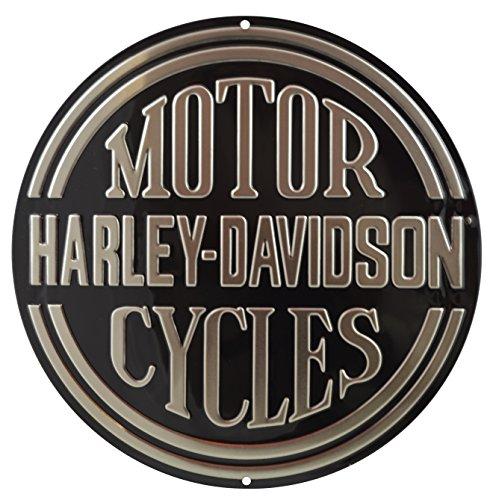 Price comparison product image Genuine Harley Davidson Platinum Disc Sign