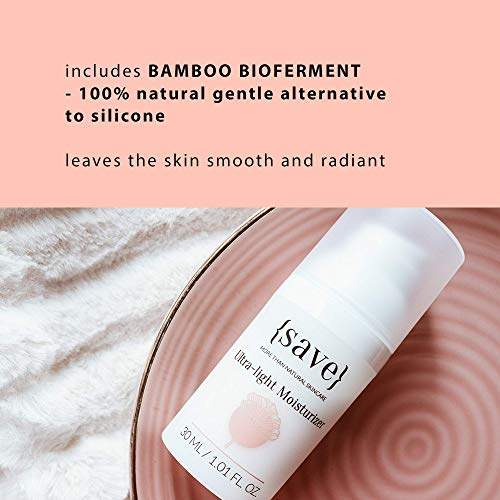 Face Moisturizer for Sensitive Skin, Natural Moisturizing Face Cream, Anti-Aging Anti-Wrinkle Support for Sensitive Dry Skin Fragrance and Paraben Free 1.01 fl. oz.