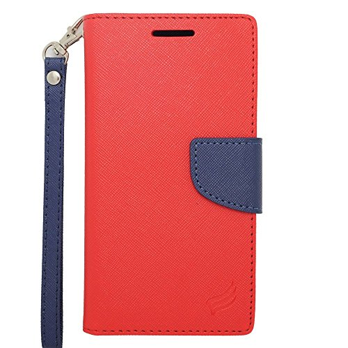 HTC Desire 610/612 Case, Insten Stand Folio Flip Leather [Card Slot] Wallet Flap Pouch Case Cover for HTC Desire 610/612 Verizon, -