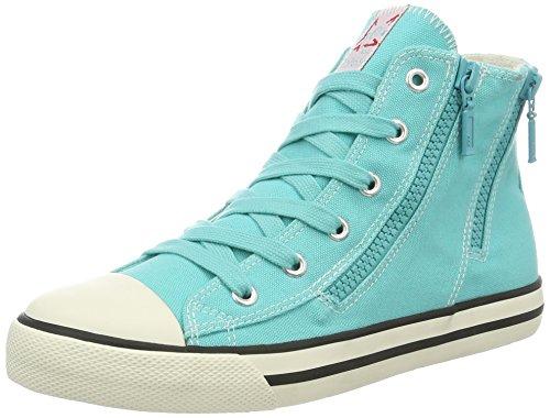 s.Oliver 55100, Zapatillas Altas para Niños Azul (AQUA 808)