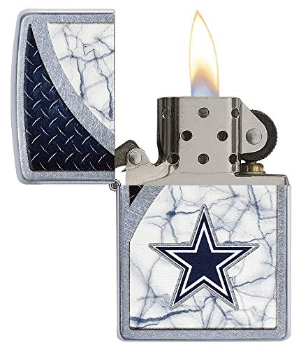 (Zippo NFL Dallas Cowboys Street Chrome Pocket)