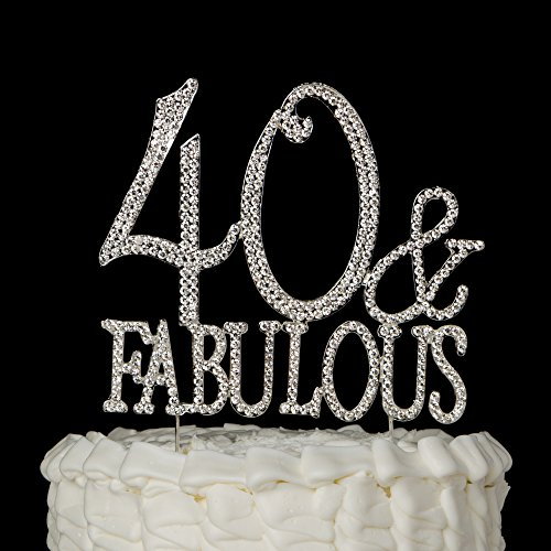 Years Of Fabulous Cake Topper Amazon
