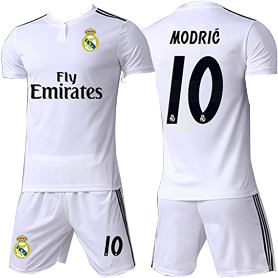 Camiseta de Manga Corta Local y visitante de la Copa Mundial 2018 Croacia 10 Traje de Uniforme de f/útbol Modric Tela de Secado r/ápido para Hombres S-2XL