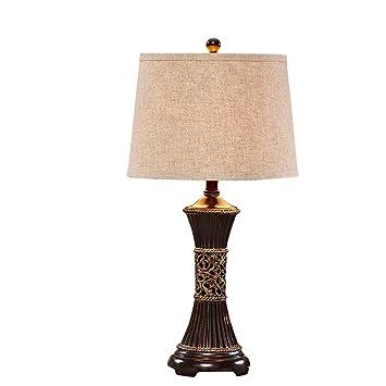 Lámpara de mesa Guo Shop- Estilo Americano Grande país Retro ...