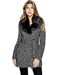 GUESS Alina Double-Breasted Coat