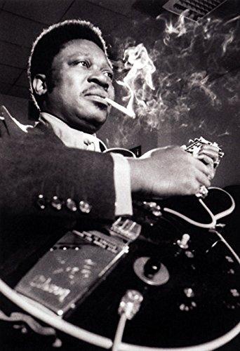 Poster Bb (B.B. King Poster, Young Blues Boy, Singer, Guitarist, Blues Musician)