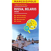 Russia, Belarus Marco Polo Map (Ukraine)