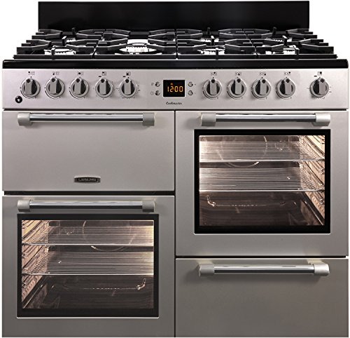 Leisure CK100F232 Gas Stove A Silver - Ovens and Cookers (Cooker, Silver,...