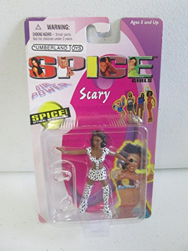 1998 Spice Girls 3 inch Figure Scary Spice, Leopard - Spice Scary Outfits