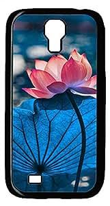 Samsung Galaxy S4 I9500 Black Hard Case - Lotus 2 Galaxy S4 Cases
