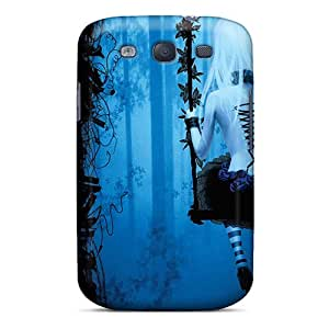 Excellent Galaxy S3 Case Tpu Cover Back Skin Protector Emo Emo Doll