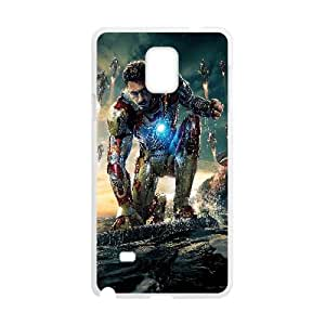 Iron Man Movie05 Samsung Galaxy Note 4 Cell Phone Case White DIY Ornaments xxy002-3677032