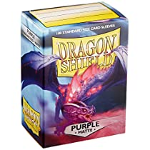 Arcane Tinman AT-11009 Dragon Shield Sleeves Matte Card Game, Pu