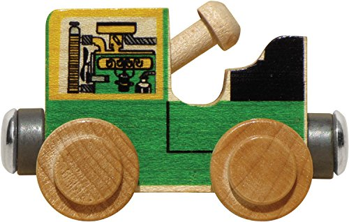 Maple Landmark NameTrains Tractor - Made in USA (Green)